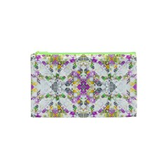 Geometric Boho Chic Cosmetic Bag (xs) by dflcprints