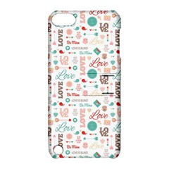 Lovely Valentine s Day Pattern Apple Ipod Touch 5 Hardshell Case With Stand