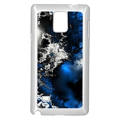 Amazing Fractal 26 Samsung Galaxy Note 4 Case (white) by Fractalworld