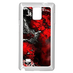 Amazing Fractal 25 Samsung Galaxy Note 4 Case (white) by Fractalworld