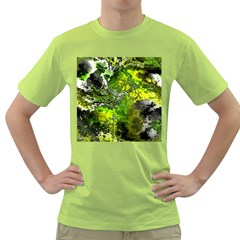 Amazing Fractal 27 Green T Shirt by Fractalworld