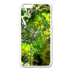Amazing Fractal 27 Apple Iphone 6 Plus/6s Plus Enamel White Case by Fractalworld