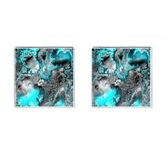 Fractal 30 Cufflinks (square) by Fractalworld