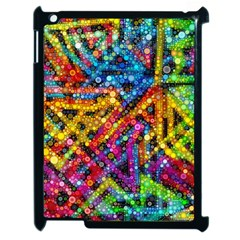 Color Play in Bubbles Apple iPad 2 Case (Black) by KirstenStar