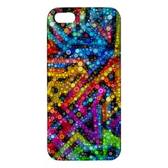 Color Play In Bubbles Apple Iphone 5 Premium Hardshell Case