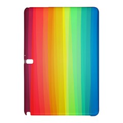 Sweet Colored Stripes Background Samsung Galaxy Tab Pro 12 2 Hardshell Case by TastefulDesigns