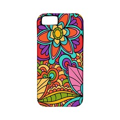 Festive Colorful Ornamental Background Apple Iphone 5 Classic Hardshell Case (pc+silicone) by TastefulDesigns