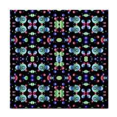 Multicolored Galaxy Pattern Tile Coasters by dflcprints
