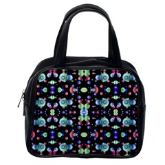 Multicolored Galaxy Pattern Classic Handbags (one Side) by dflcprints