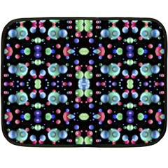 Multicolored Galaxy Pattern Fleece Blanket (mini) by dflcprints