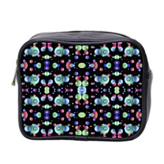 Multicolored Galaxy Pattern Mini Toiletries Bag 2-Side by dflcprints