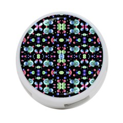 Multicolored Galaxy Pattern 4 Port Usb Hub (two Sides)  by dflcprints