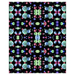 Multicolored Galaxy Pattern Drawstring Bag (small) by dflcprints