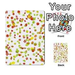 Colorful Fall Leaves Background Multi Purpose Cards (rectangle)  by TastefulDesigns