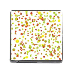 Colorful Fall Leaves Background Memory Card Reader (Square) by TastefulDesigns