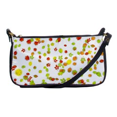 Colorful Fall Leaves Background Shoulder Clutch Bags by TastefulDesigns