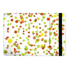 Colorful Fall Leaves Background Samsung Galaxy Tab Pro 10 1  Flip Case by TastefulDesigns