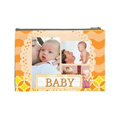 Baby By Baby   Cosmetic Bag (large)   45sqeh9ku3ld   Www Artscow Com Back