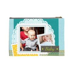 Baby By Baby   Cosmetic Bag (large)   Zp9053o4wykd   Www Artscow Com Back