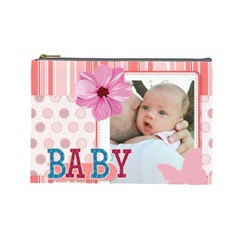 Baby By Baby   Cosmetic Bag (large)   Fl2l35k1reaf   Www Artscow Com Front