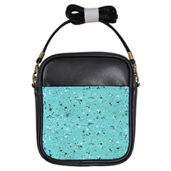 Abstract Cracked Texture Girls Sling Bags by dflcprints