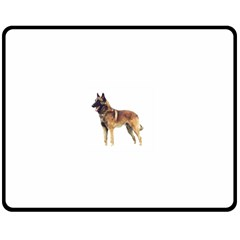 Malinois Full Fleece Blanket (Medium)  by TailWags