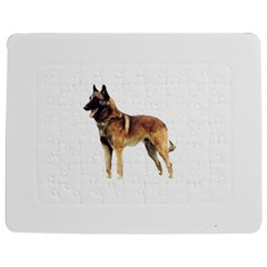 Malinois Full Jigsaw Puzzle Photo Stand (rectangular) by TailWags