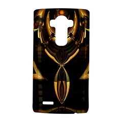 Golden Metallic Geometric Abstract Modern Art Lg G4 Hardshell Case by CrypticFragmentsDesign