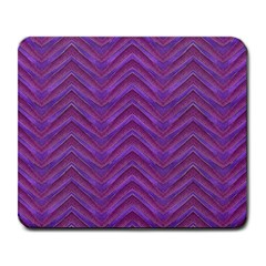 Grunge Chevron Style Large Mousepads by dflcprints
