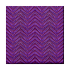 Grunge Chevron Style Face Towel by dflcprints