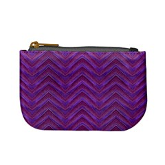 Grunge Chevron Style Mini Coin Purses by dflcprints