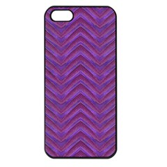 Grunge Chevron Style Apple Iphone 5 Seamless Case (black) by dflcprints