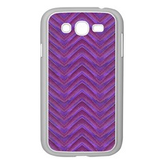 Grunge Chevron Style Samsung Galaxy Grand Duos I9082 Case (white) by dflcprints