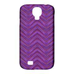Grunge Chevron Style Samsung Galaxy S4 Classic Hardshell Case (pc+silicone) by dflcprints