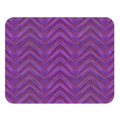 Grunge Chevron Style Double Sided Flano Blanket (large)  by dflcprints