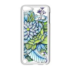 Peaceful Flower Garden 1 Apple Ipod Touch 5 Case (white) by Zandiepants