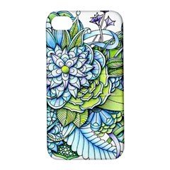 Peaceful Flower Garden 1 Apple Iphone 4/4s Hardshell Case With Stand by Zandiepants