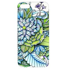Peaceful Flower Garden 1 Apple Iphone 5 Hardshell Case With Stand by Zandiepants