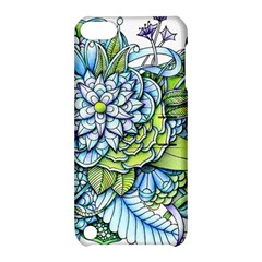 Peaceful Flower Garden 1 Apple Ipod Touch 5 Hardshell Case With Stand by Zandiepants