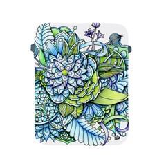 Peaceful Flower Garden 1 Apple Ipad 2/3/4 Protective Soft Case by Zandiepants