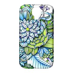 Peaceful Flower Garden 1 Samsung Galaxy S4 Classic Hardshell Case (pc+silicone) by Zandiepants