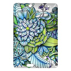 Peaceful Flower Garden 1 Amazon Kindle Fire Hd (2013) Hardshell Case by Zandiepants