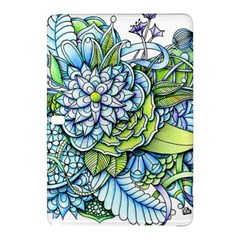 Peaceful Flower Garden 1 Samsung Galaxy Tab Pro 12 2 Hardshell Case by Zandiepants