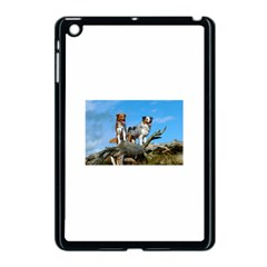 2 Australian Shepherds Apple iPad Mini Case (Black) by TailWags