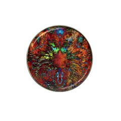 Boho Bohemian Hippie Floral Abstract Hat Clip Ball Marker (10 Pack) by CrypticFragmentsDesign