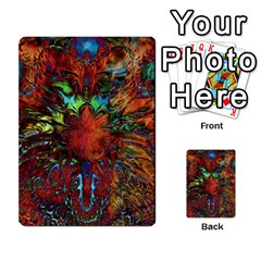 Boho Bohemian Hippie Floral Abstract Multi Purpose Cards (rectangle)