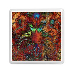 Boho Bohemian Hippie Floral Abstract Memory Card Reader (square)  by CrypticFragmentsDesign