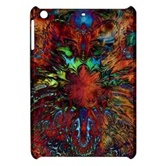 Boho Bohemian Hippie Floral Abstract Apple Ipad Mini Hardshell Case by CrypticFragmentsDesign