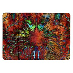 Boho Bohemian Hippie Floral Abstract Samsung Galaxy Tab 8 9  P7300 Flip Case by CrypticFragmentsDesign
