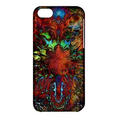 Boho Bohemian Hippie Floral Abstract Apple Iphone 5c Hardshell Case by CrypticFragmentsDesign
